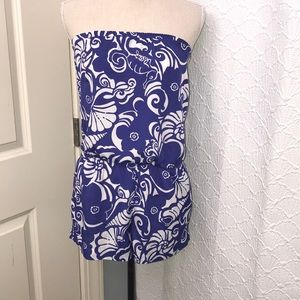 Lilly Pulitzer Colleen Strapless Romper